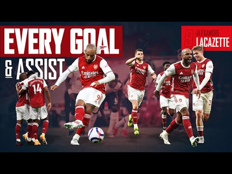 The best of Alexandre Lacazette    Every Goal and Assist    2020/21 Highlights