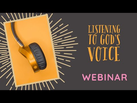 LISTENING TO GOD'S VOICE: Live Webinar with Fr. Rob Galea