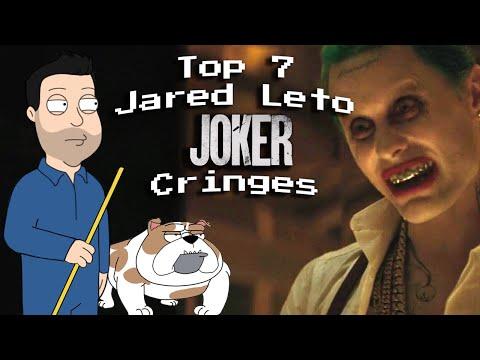 Top 7 Jared Leto Joker Cringes (Why Heath Ledger is a Better Method Actor)