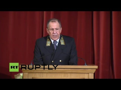 LIVE: Sergei Lavrov to speak at Diplomats' Day in Moscow - original audio