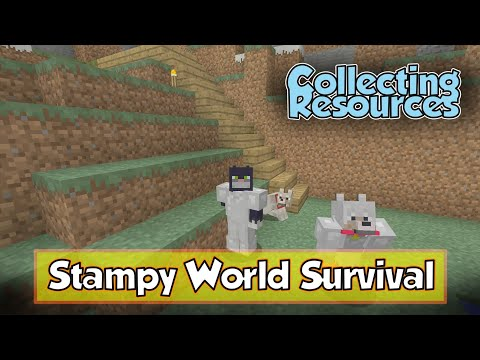 Stampy's Seed Survival [1] Gathering Resources