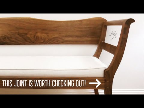 Building An Heirloom Bench In Walnut