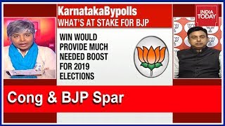 Congress Vs BJP Debate On Who's Leading In Karnataka Bypolls