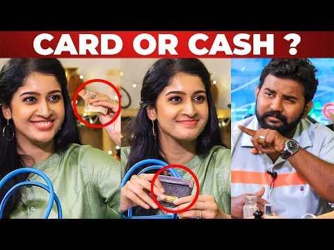 Card or Cash? Tanya's Funny Reply to VJ Ashiq   What's Inside your Handbag