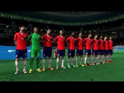 FIFA World Cup 2014: Costa Rica vs Greece (Round Of 16) Simulation (EA FIFA World Cup 2014 Brazil)