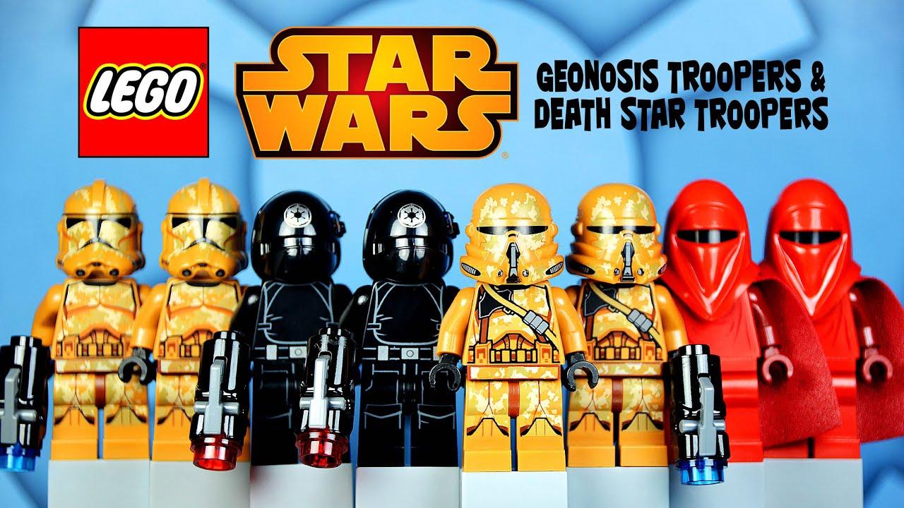 lego star wars geonosis troopers 75089 amp death star
