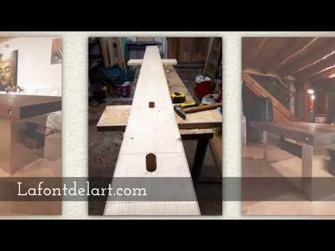 Mesa por encargo a medida. Mueble a medida de diseño vintage