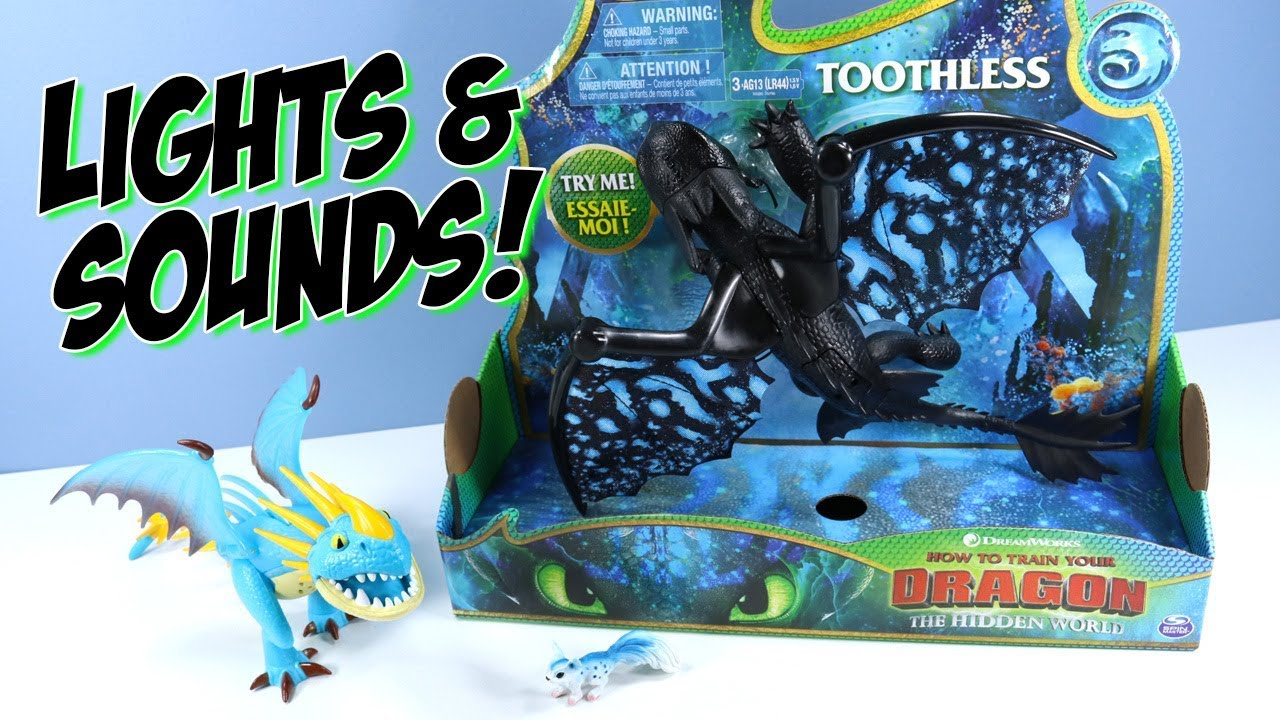 How To Train Your Dragon 3 The Hidden World Deluxe Toothless And