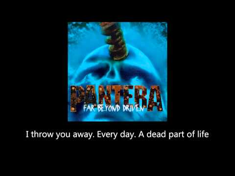 Pantera - Shedding Skin (Lyrics)