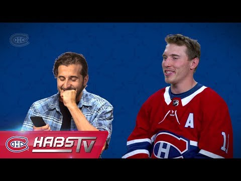 Which teammate would the Habs trust with their phone password?