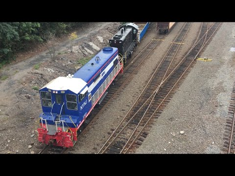 NYNJ Railroad: Switching Operations In Brooklyn, NY, With KLW Rebuild Duo
