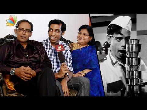 My son reminds me of Nagesh : Anand Babu Interview | Server Sundaram, Santhanam