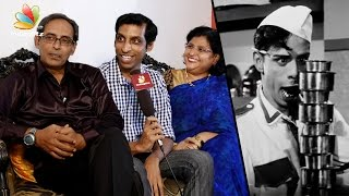 My son reminds me of Nagesh : Anand Babu Interview | Server Sundaram, Santhanam