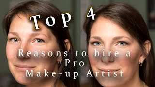 Top 4 Reasons to Hire a Pro Makeup Artist for your Photoshoot