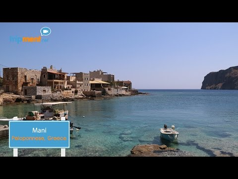 Road trip by motorcycle in Mani, Peloponnese - Greece