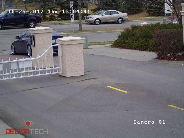 Community Gate Security Camera