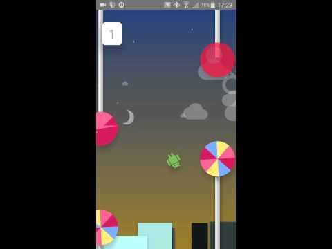 Android 5.1.1 Lollipop: Hidden Game