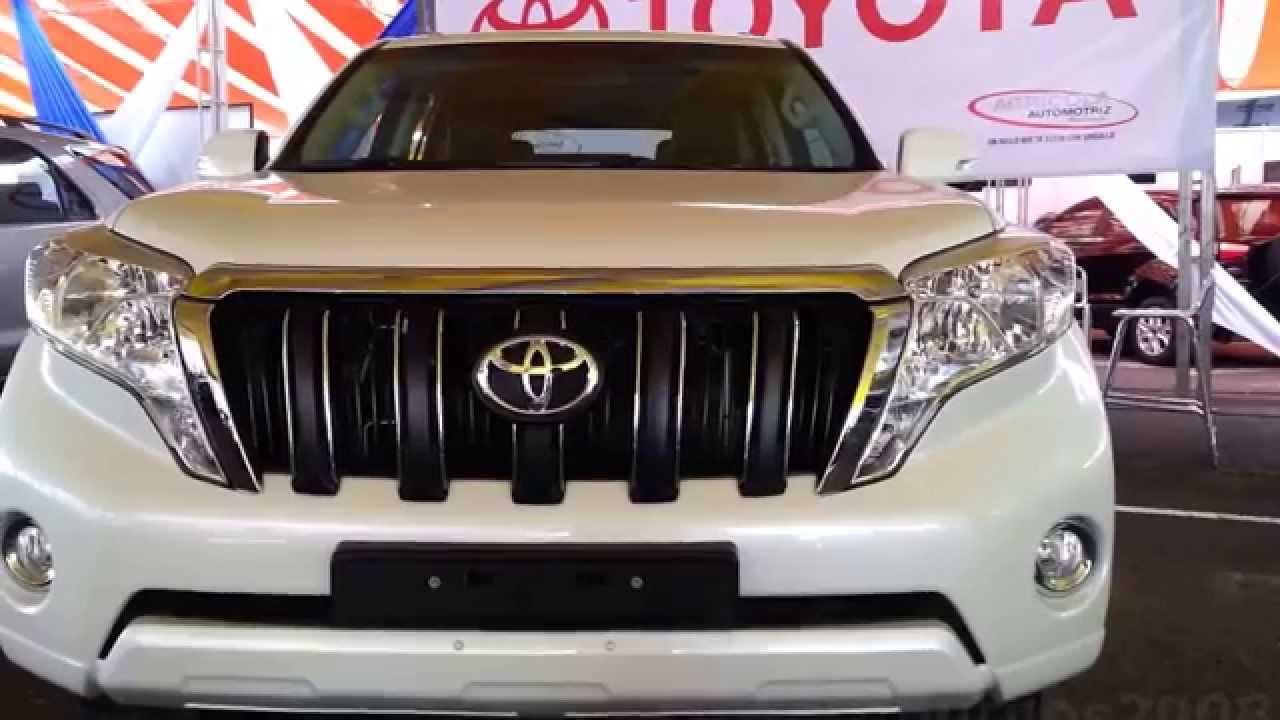 2015 toyota land cruiser prado txl 2015 al 2016 precio ficha tecnica caracteristicas colombia youtube
