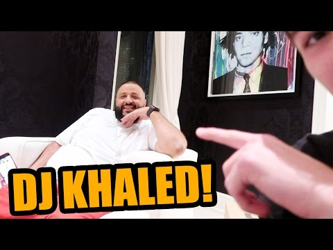 HANGING OUT WITH DJ KHALED AT HIS LOS ANGELES HOUSE!