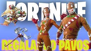 IF I WIN I BUY THE SKIN OF GALLET !! + REGALING PAVOS !! - FORTNITE