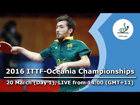 2016 ITTF-Oceania Championships - Day 1
