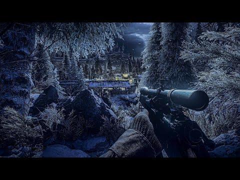 The Ardennes Night Ambush - Call of duty - 4K