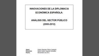 La tesis de Sánchez ya puede consultarse en la base de datos Teseo