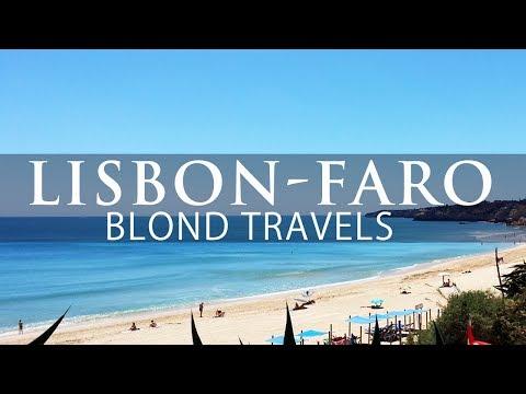 ALGARVE TRIP Portugal Lisbon Faro Algarve Train. Blond Reports
