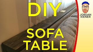 Sofa Table Montage