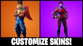 Como fazer e personalizar SKINS! (Fortnite: Battle Royale)