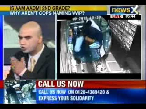 NewsX: Another incident of VIPs abusing powers, chemist beaten up in Delhi