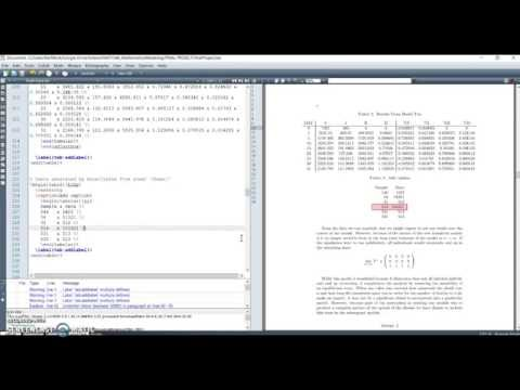 Creating Tables In LaTeX The Easy Way | TeXMaker How To's