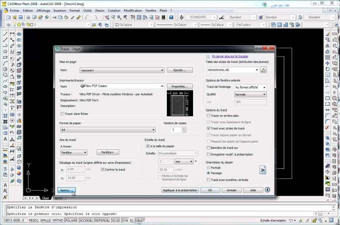 Comment Convertir Un Fichier Autocad En Pdf  Youtube