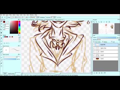 .::Every Changes::. Bill Cipher Speedpaint