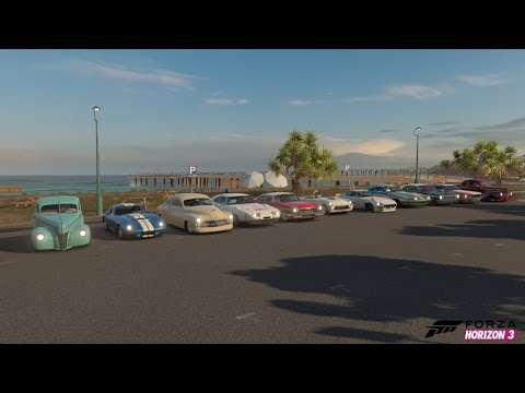 "Forza Horizon 3 ""Classic Car"" Car Show, Rev Battle, Drag Races, 1v1, Infected And More!"