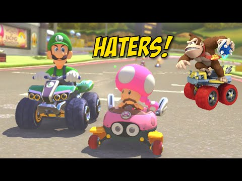 ALL THESE HATIN' ASS B#TCHES!! [MARIO KART 8]