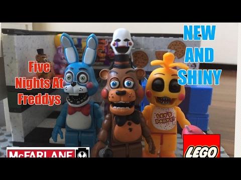 Lego FNaF New And Shiny (mcfarlane)