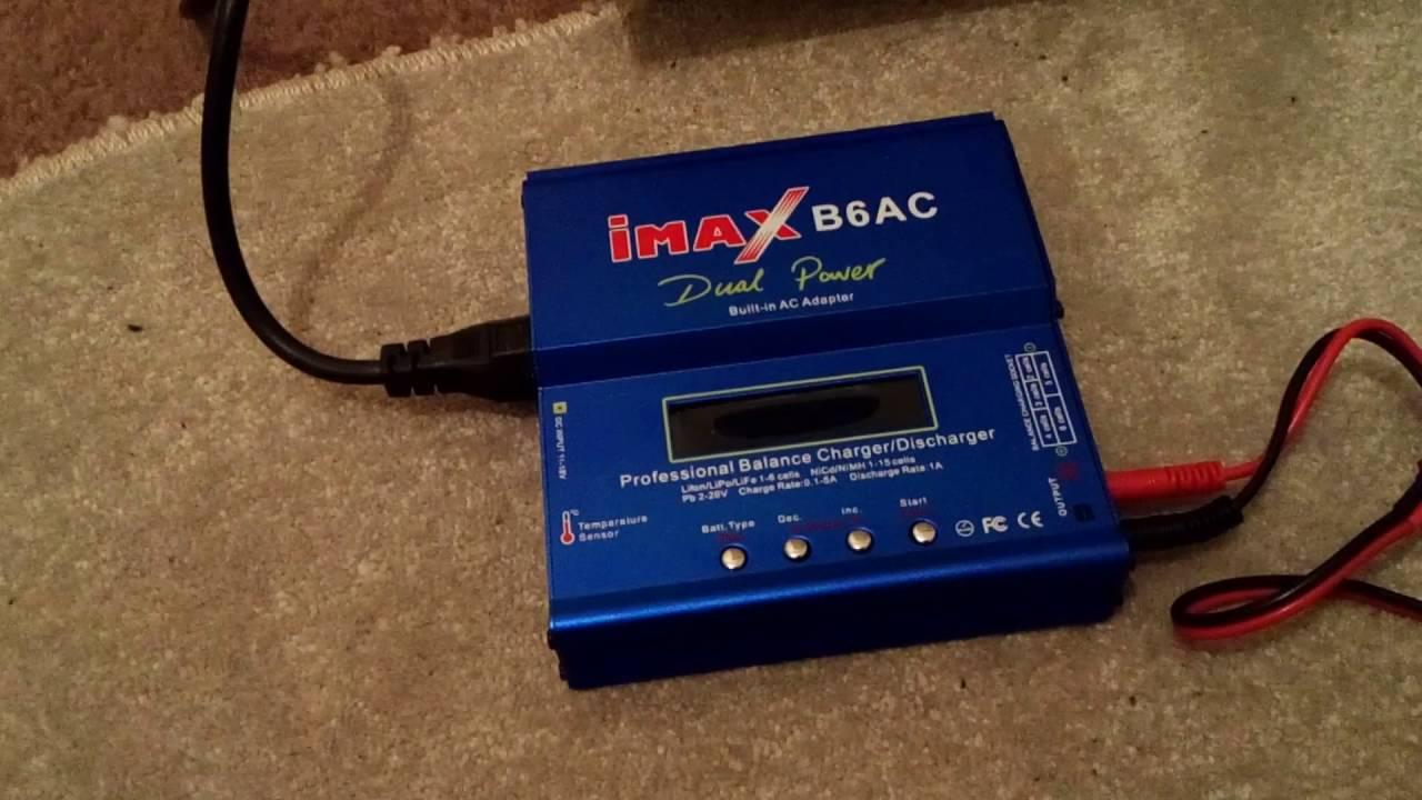 New high quality imax b6 lcd screen digital rc lipo nimh battery.