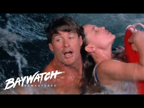 Will Mitch Rescue Her Before She Gives BIRTH? Baywatch Remastered |