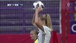 Frauenfussball Freundschaftsspiel Deutschland vs Italien  10 11 18
