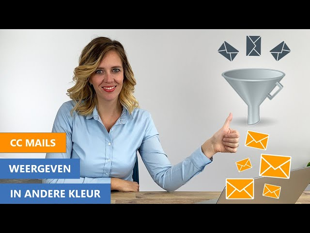CC mail in andere kleur | Automatische filter in Outlook