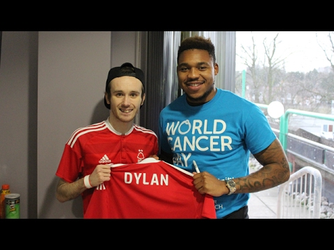 Forest fan is inspiration on World Cancer Day