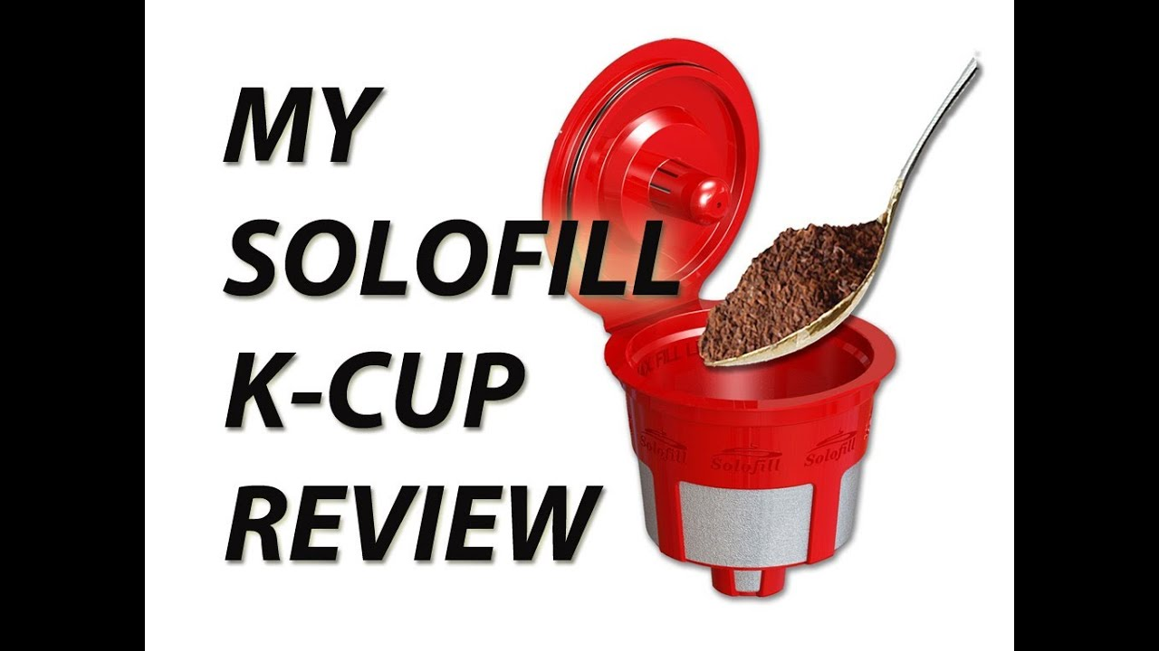 How Much Coffee Is In Ak Cup >> Solofill K Cup Review Reusable K Cup For Keurig Brewers Youtube