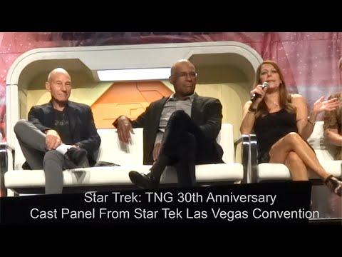 Star Trek: TNG 30th Anniversary Reunion Full Panel - Front R