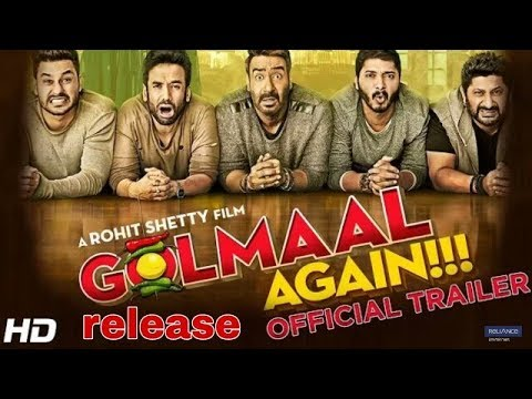 Golmaal again | official trailer | rohit shetty | ajay devgan | golmaal 4