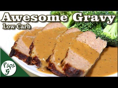 Easy To Make Low Carb Gravy Recipe – Turkey – Chicken – Beef – Keto