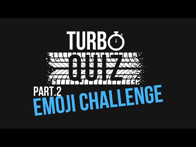 Turbo Quiz - Emoji Challenge Part.2