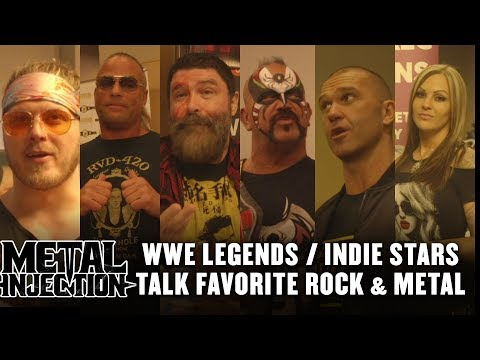 WWE Legends / Indie Stars Talk Favorite Bands, Compare Rock to Wrestling | Metal Injection