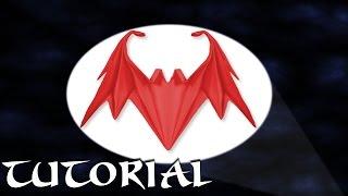 Origami Bat Tutorial