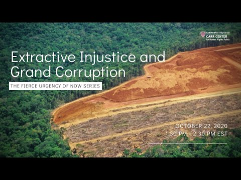 Extractive Injustice and Grand Corruption on YouTube
